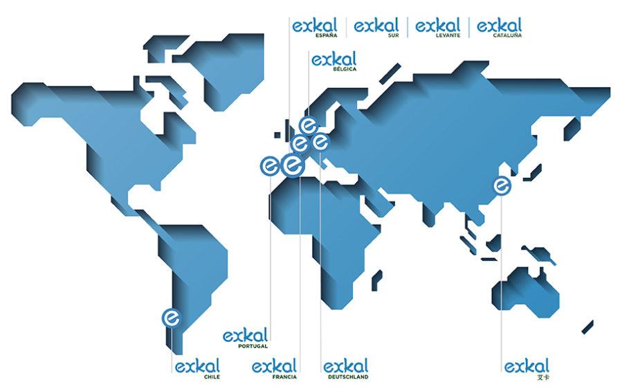 Mapa Exkal